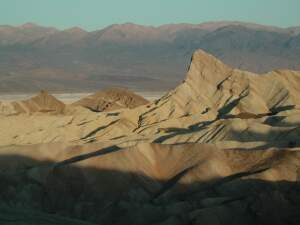 Sunrise at Zabriskie Point